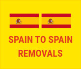 Advancemoves Spain to Spain Removals Flag