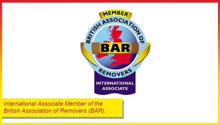 Members of the British Association of Movers (BAR)