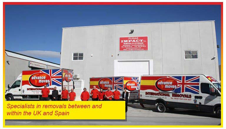 Speicalists in moving your property between the UK & Spain
