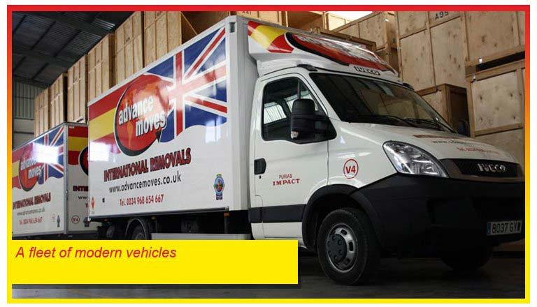 Removals UK to Spain